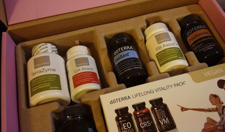 doTERRAs Cleanse & Restore-kit